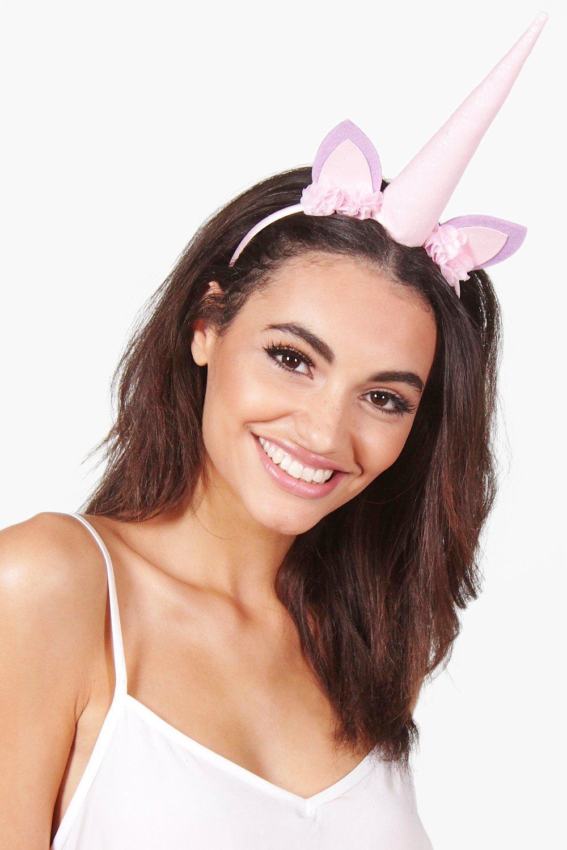 Pastel Glitter Unicorn Headband - multi - Faye Pas