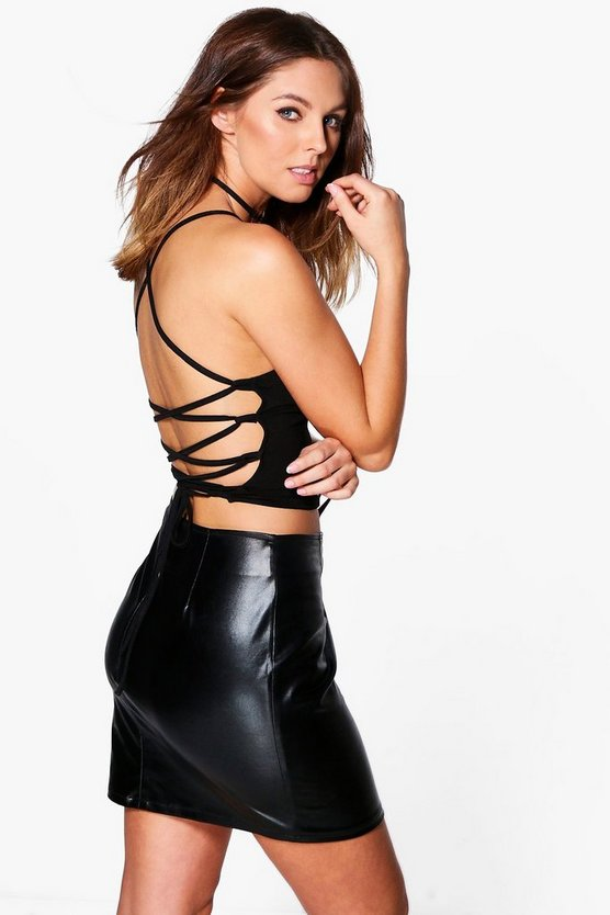 Verity Strappy Tie Back Top