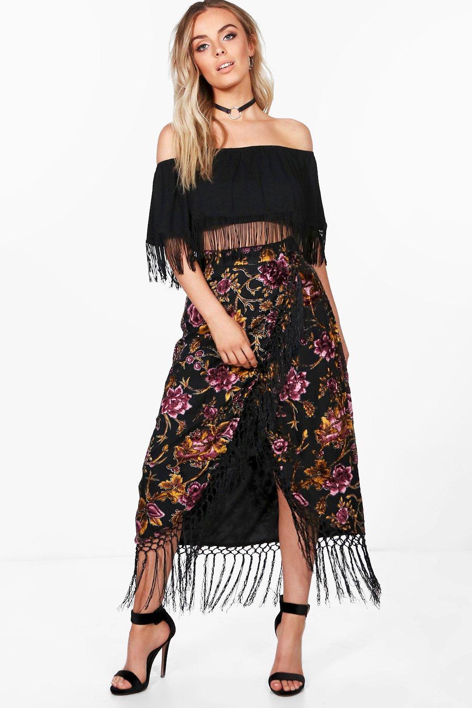 http://www.boohoo.com/lulu-velvet-flocked-tassle-midi-skirt/DZZ60462.html?color=undefined