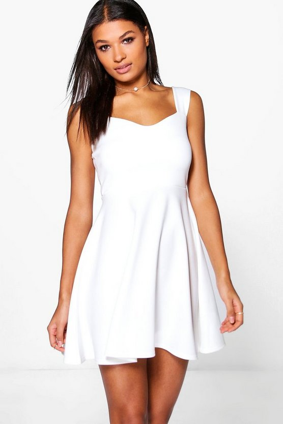 Marcie Strappy Skater Dress