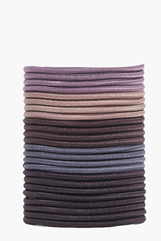 Купить Аксессуары для волос, Комплект из 24 резинок для волос, boohoo