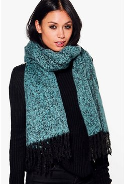 Elsa Boucle Supersoft Blanket Scarf