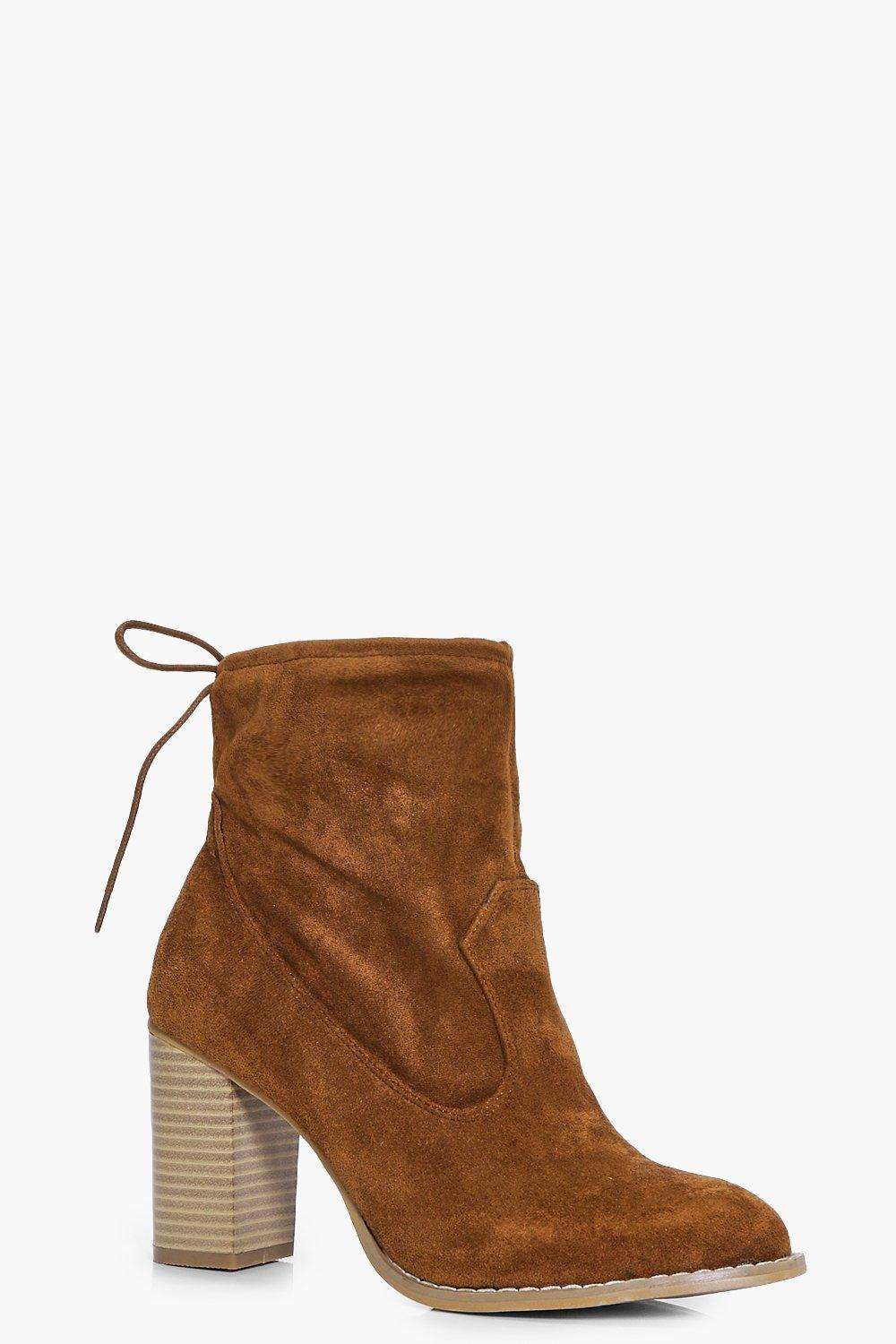 Natasha Western Sock Boot