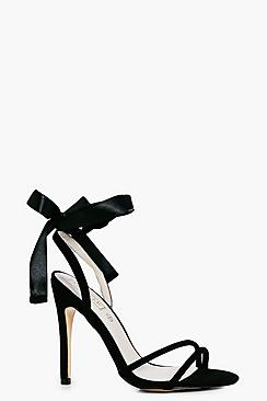 Ruby Ribbon Tie Two Part Sandal