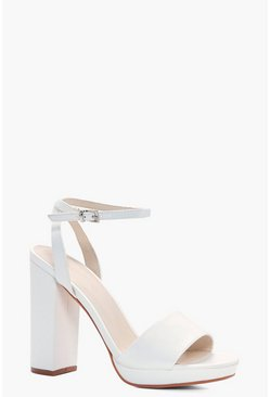 Lilly Platform Two Part Sandal