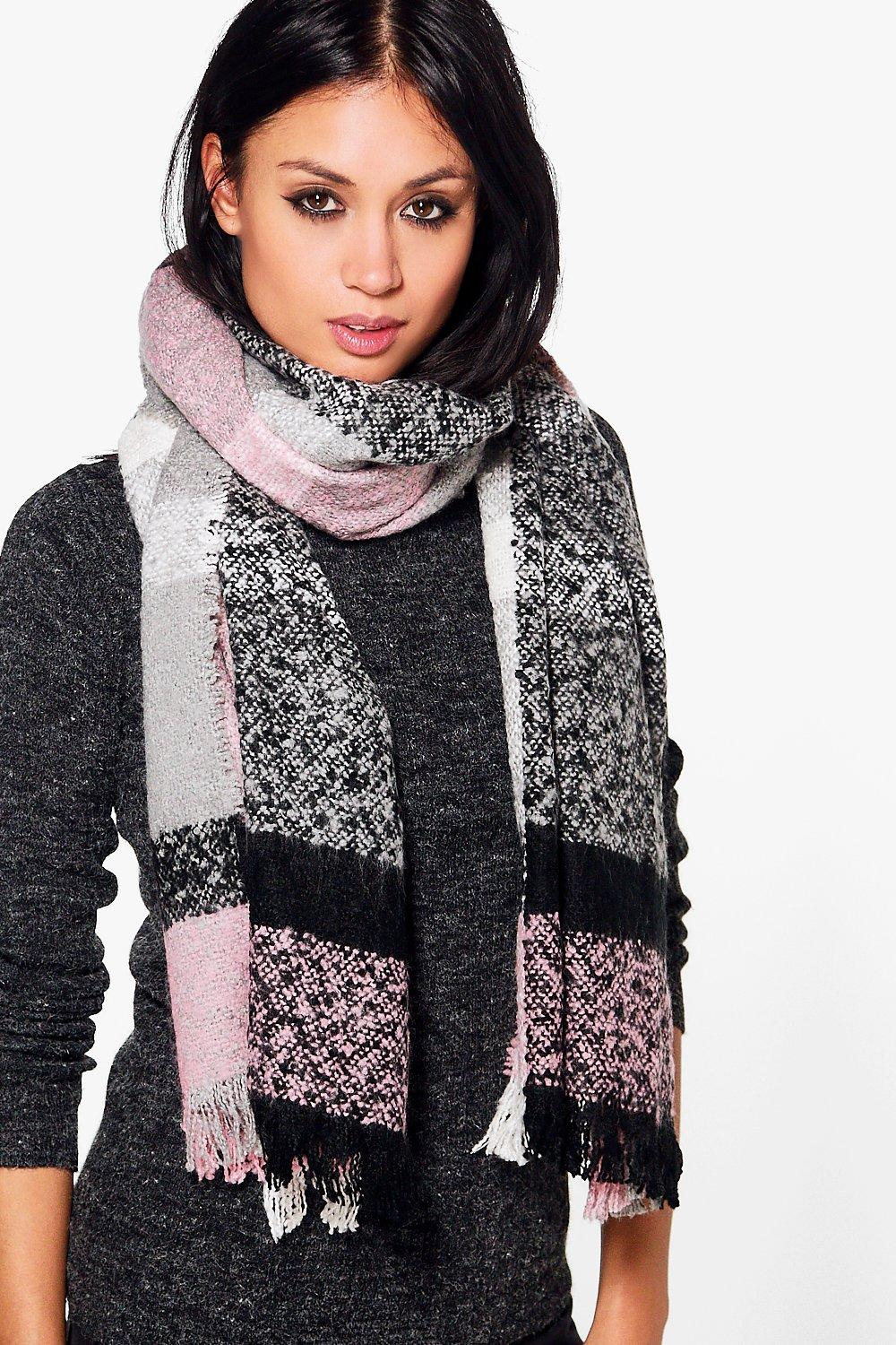 Lois Tartan Check Supersoft Scarf