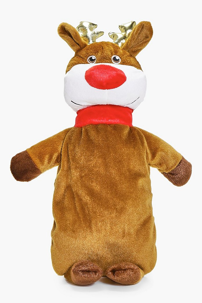 Novelty Christmas Reindeer Hot Water Bottle