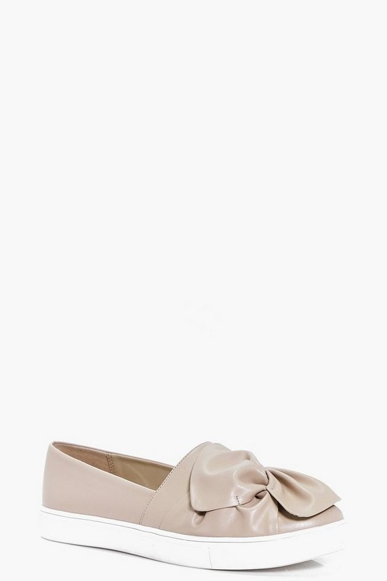 Leah Knotted Bow Skater Shoes