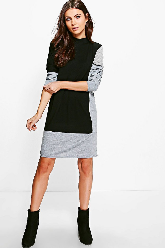 Taylor Colour Block Shift Dress