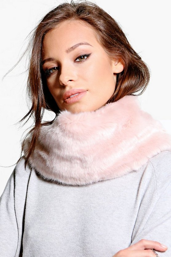 Lacey Faux Fur Snood