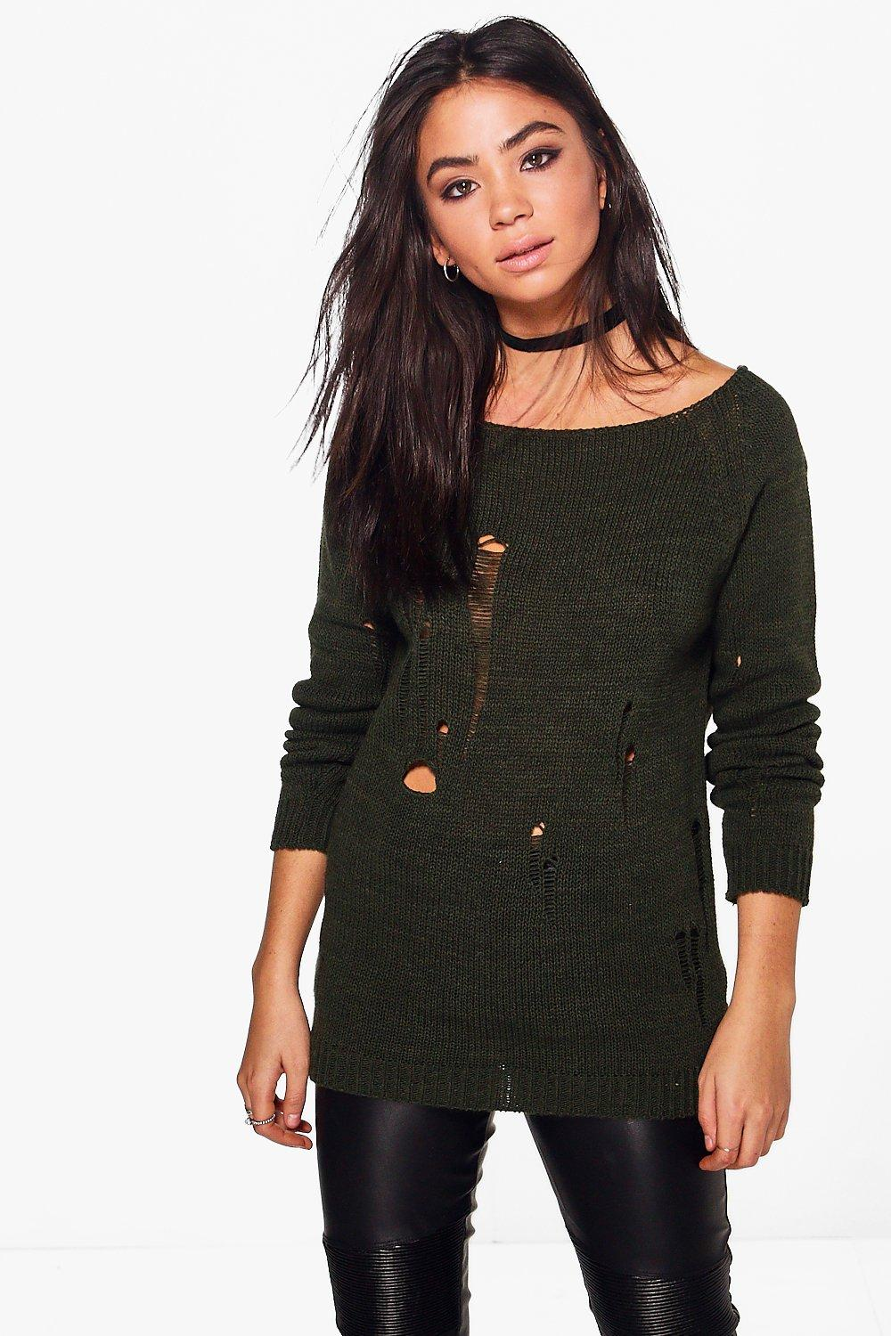 Maria Ladder Knit Jumper