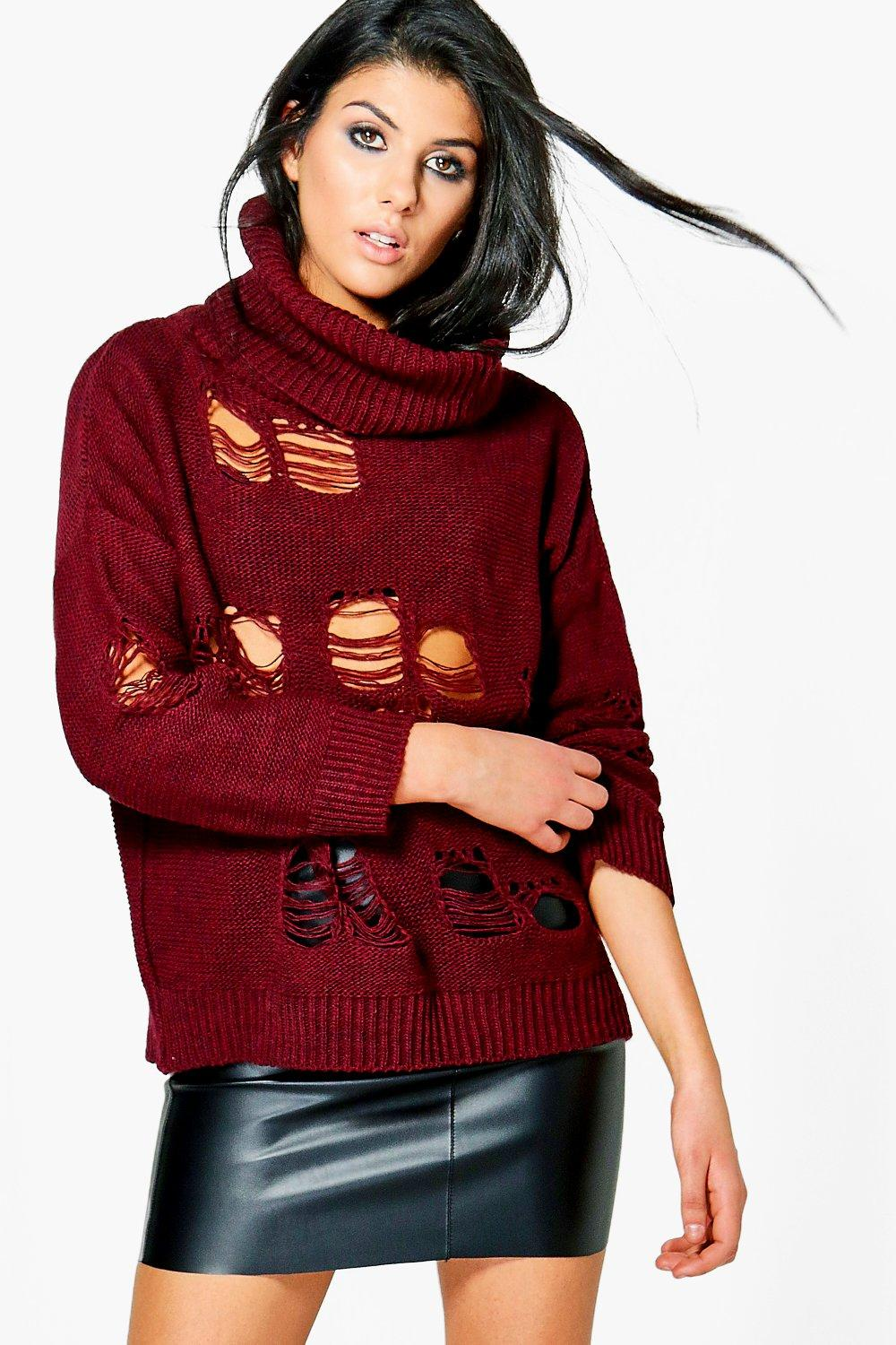 Nicole Roll Neck Ladder Jumper