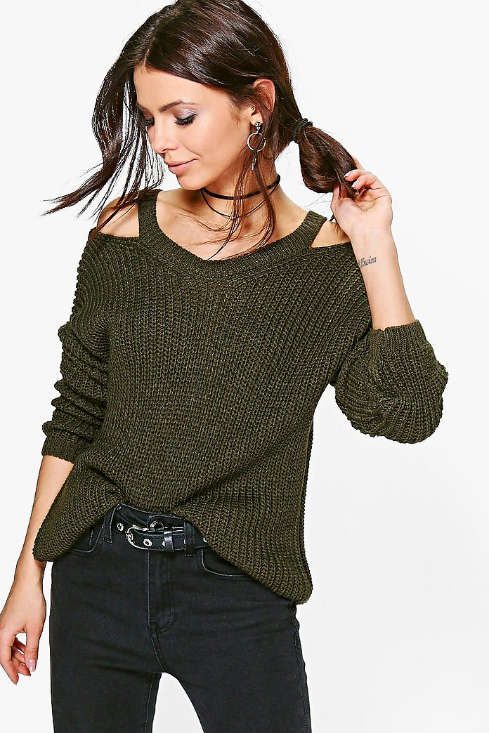 Abigail Cut Out Detail Jumper
