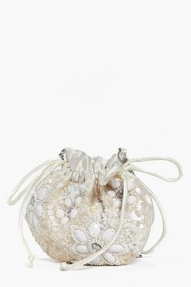 Macey Bridal Floral Pouch Cross Body Bag