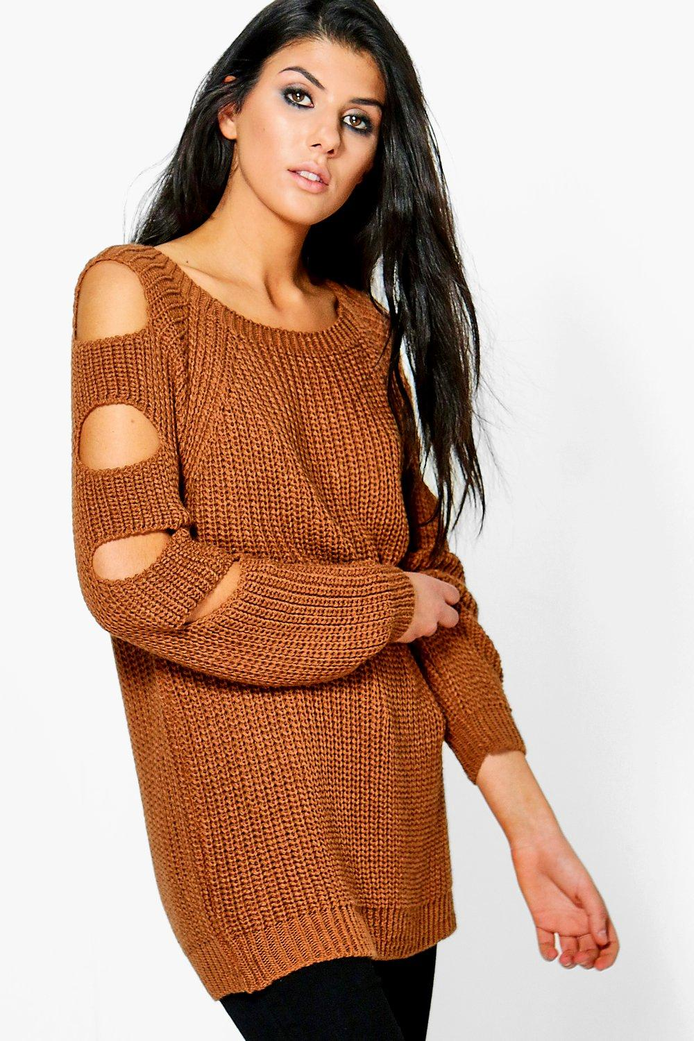 Amelia Open Arm Knitted Jumper