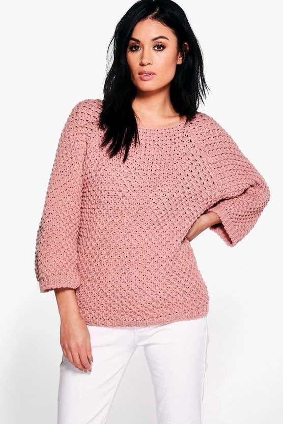 Evelyn Fisherman Jumper