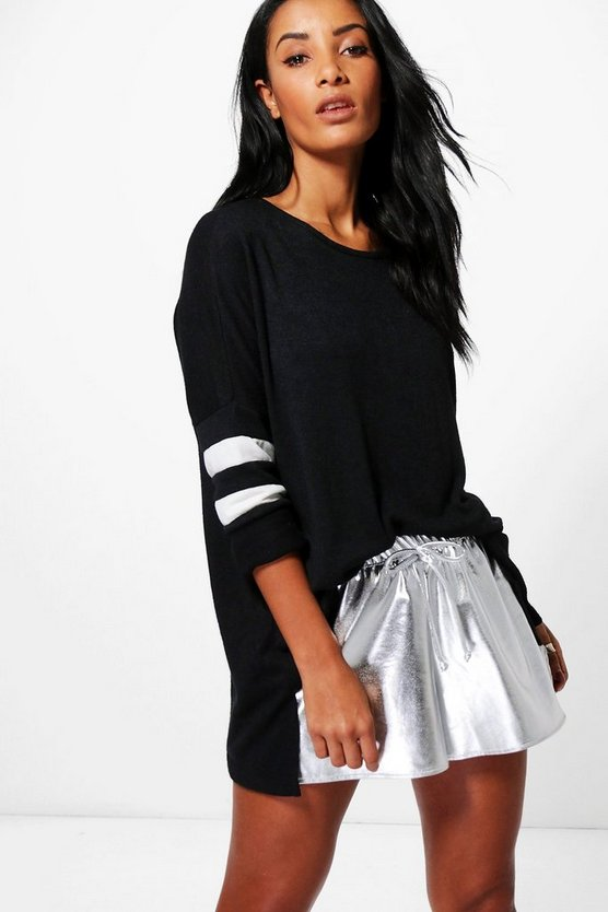Maria Knitted Sporty Jumper