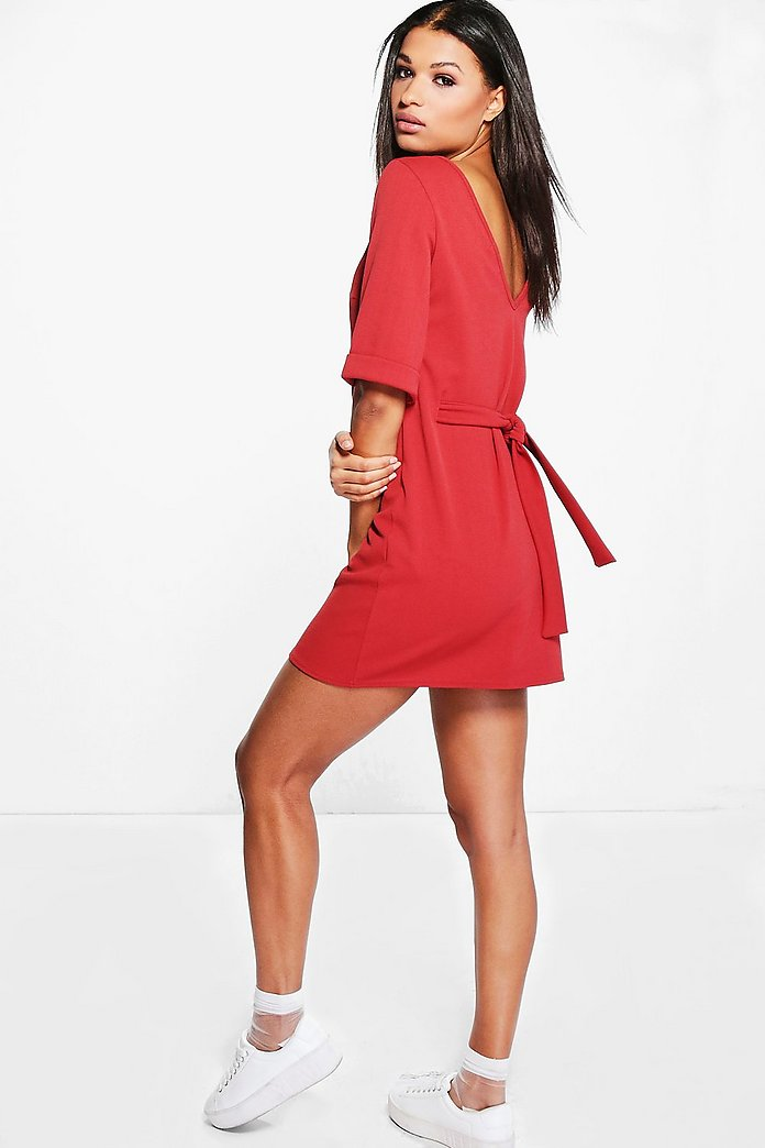 Angharad Tie Back Shift Dress