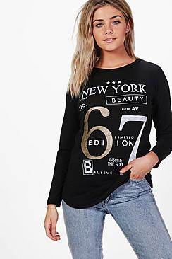 Jasmine New York Knitted Top