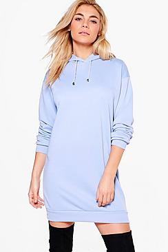 Katie Long Sleeved Hood Sweat Dress