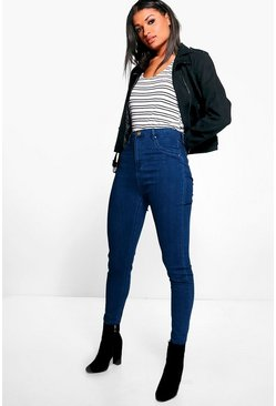 Lara High Rise Denim Jeggings
