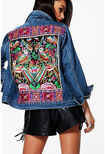 Denim Jackets | Shop Jean Jackets for Women Online | Boohoo