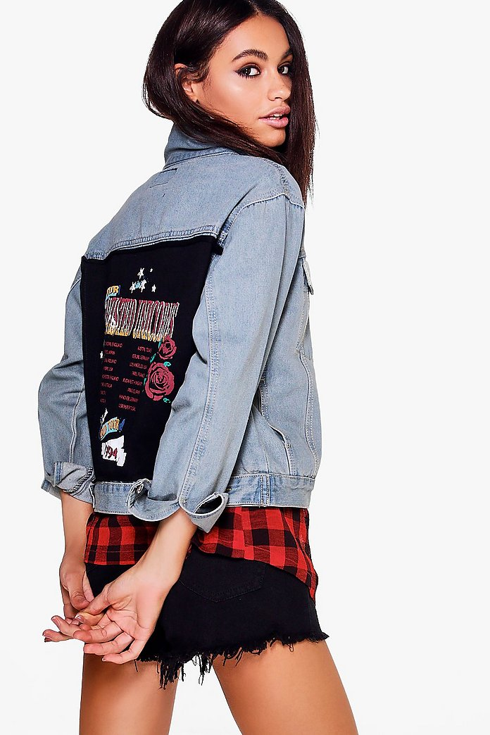 Janie World Tour Boyfriend Denim Jacket