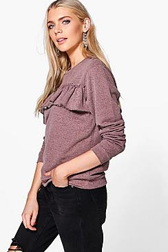 Felicity Frill Detail Sweat