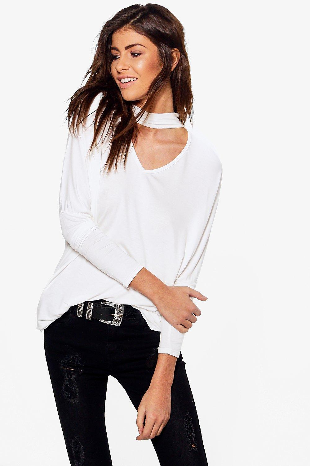 Teresa Oversized Choker Neck Tunic