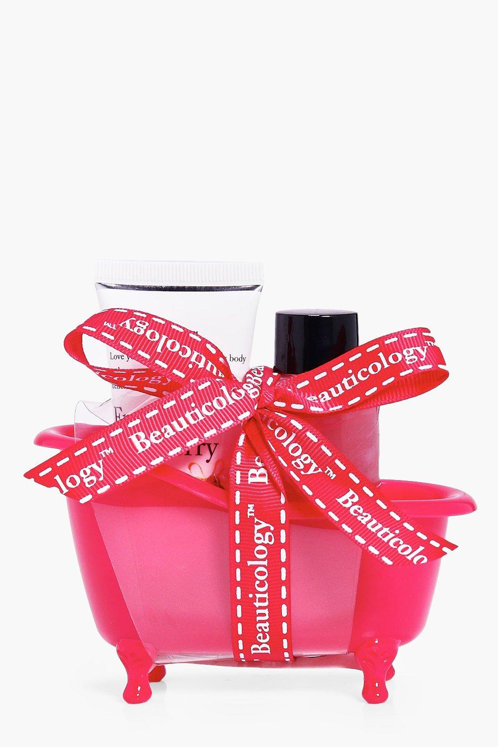 Strawberry Shower Cream & Body Gift Set