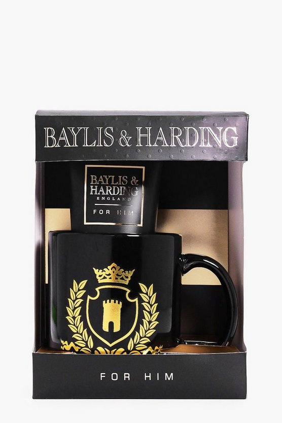 Black Pepper Shower & Mug Gift Set For Him