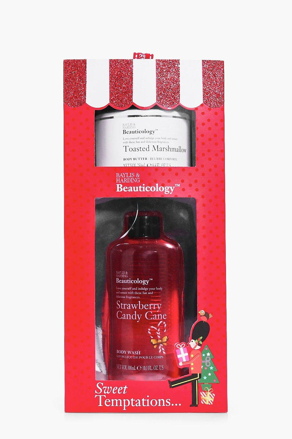 Strawberry Body Wash & Body Butter Gift Set