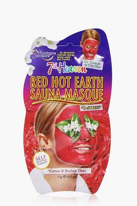 Red Hot Sauna Face Mask