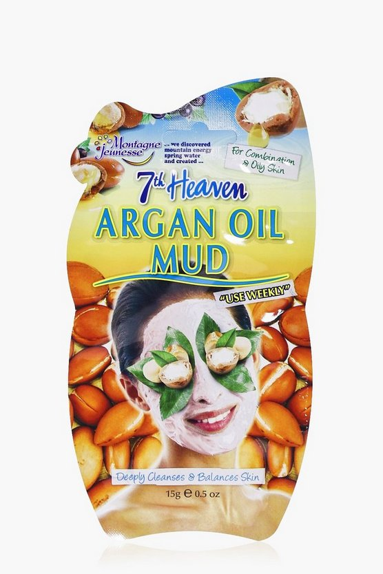 Argan Oil Mud Face Mask