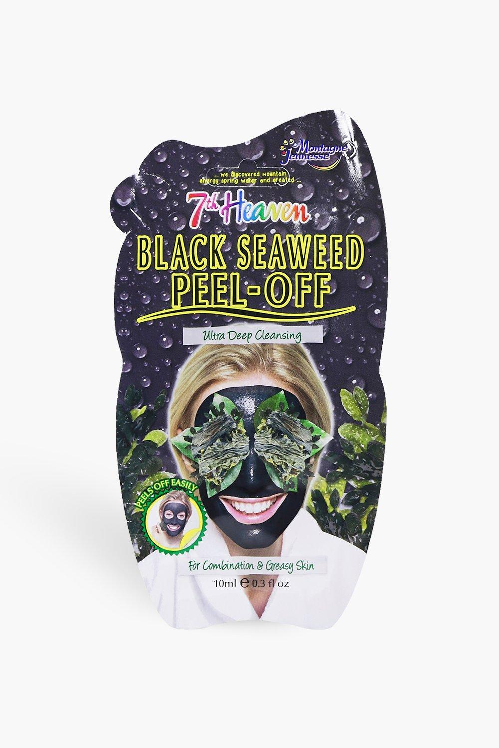 boohoo Womens Black Seaweed Peel Off Face Mask - One Size, Black