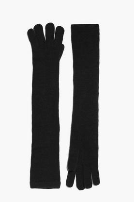Erin Knitted Elbow Length Gloves