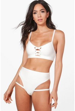 Adelaide Boutique Bandage Cut Out Bikini