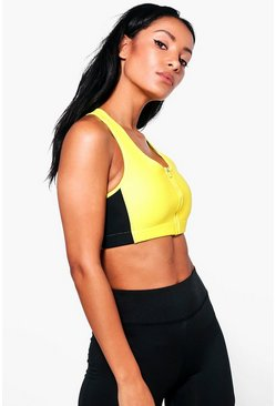 Laura Fit Zips Sports Bra