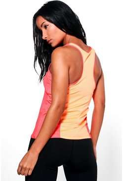 Ariana Fit Mesh Racer Back Running Vest
