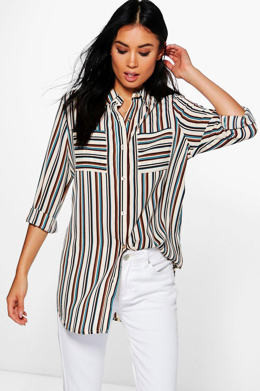 Hannah Striped Shirt
