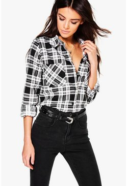 Eva Check Pocket Shirt