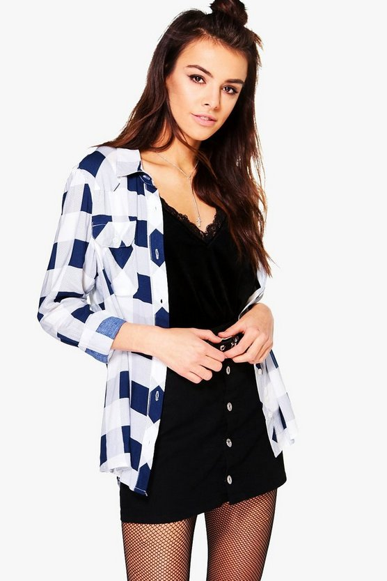 Katy Check Viscose Shirt