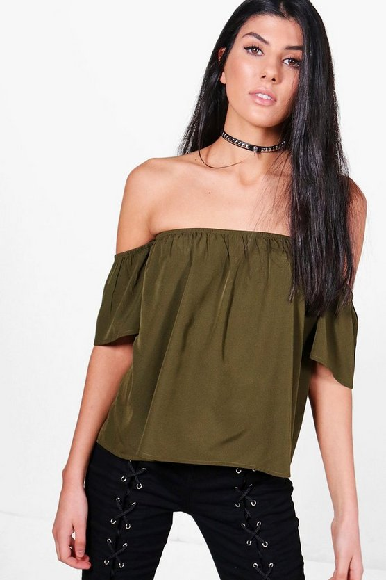 Lizzie Woven Off The Shoulder Top