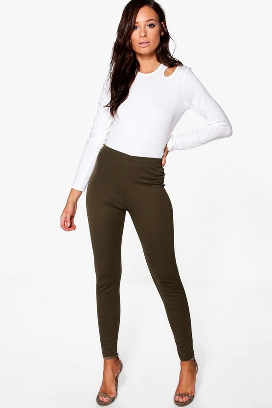 Shrea Thick Ponte High Waist Leggings