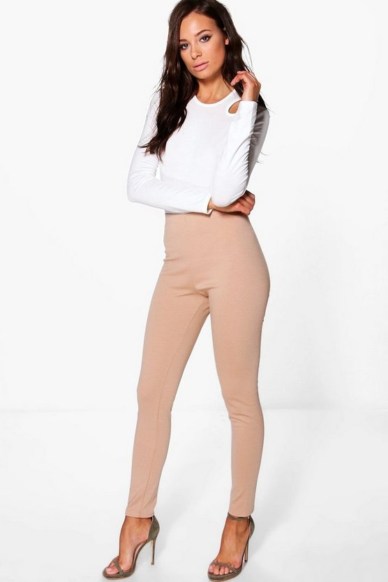 Thick Ponte High Waist Leggings