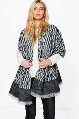 Esme Knitted Mono Blanket Scarf
