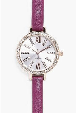 Lydia Bauble Present Diamante Watch