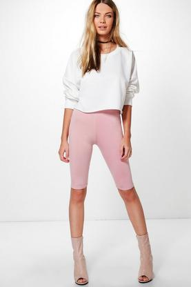 Maya Basic Jersey Knee Length Leggings