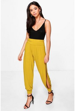 Ria Highwaist Side Split Hareem Trousers