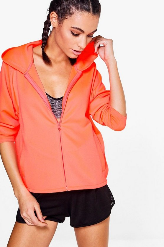 Maisie Athleisure Zip Through Hoodie